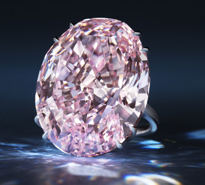 The Pink Dream sold at Sotheby's Geneva for $83,187,381 (CHF 76,325,000), a world auction record for a diamond or jewel.