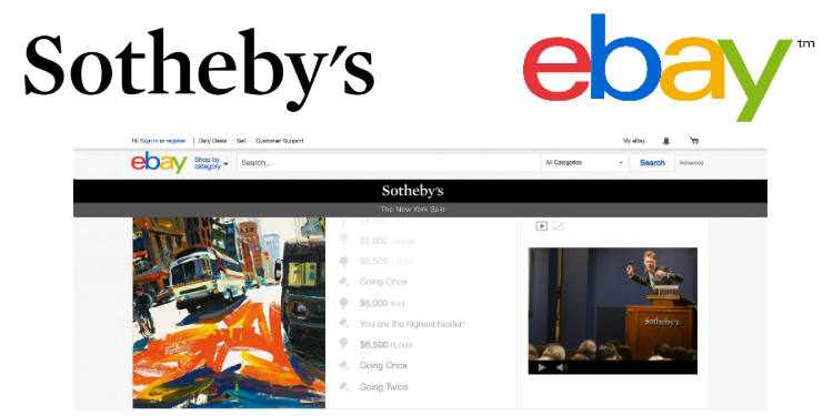 Sotheby S And Ebay Launch Live Online Auctions Private Art Investor